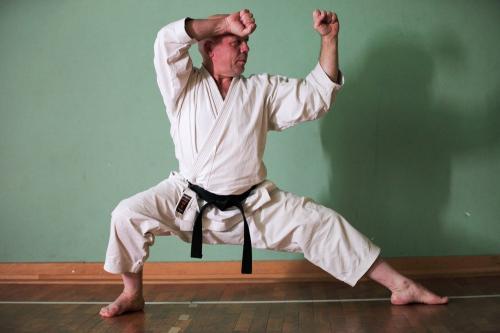 Michael der Karatetrainer